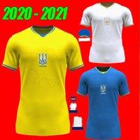 2021 Ucrânia Futebol Jersey Home 21 22 Vitaliy Mykolenko Oleksandr Zinchenko Ruslan Malinovskyi Viktor Tsygankov National Team Football Camisas