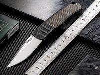 POTECH Magic Tactical Pieghevole coltello 154 cm Blade in fibra di carbonio Maniglia Automatica Camping Hunting Survival Pocket Utility EDC Strumenti