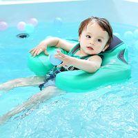 Baby floater spädbarn swimmers simning ring non-uppblåsbara float barn liggande simma midja floats pool leksaker tränare liv väst boj