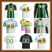 Jogador Versão 2021 2022 Cecilio Austin FC Soccer Jerseys Anel Besler Home Kit Preto Verde 21 22 Camisas de Futebol Camisetas Maillot de pé