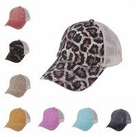 الصيف شبكة البيسبول قبعة كريسس ذيل حصان الكرة كاب للجنسين قابل للغسل ظلة قناع في الهواء الطلق snapbacks قبعات DDA480