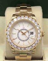 Hochwertiger, modischer und eleganter, meistverkaufter Herren-Diamant-Uhrendurchmesser von Männern 43mm, automatische mechanische Bewegung wasserdicht