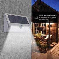 태양 램프 9 LED 보안 벽 램프 고품질 내구성 다기능 가정용 야외 정원 방수 바디 모션 센서 빛