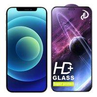 Glass temperato HD Super Protect Screen Protector Pellicola Protezione Pellicola Protezione Curve Copertura Premium Shield per iPhone 13 Pro Max 12 Mini 11 XS XR x 8 7 6 6S Plus SE