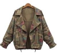 Women Camo Jacket Desert Camouflage Coat Utility Outdoor Coat ZHL6966