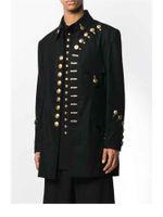 Herrenanzüge Blazer S-4XL Männer Kleidung Mode Gd Viele Knöpfe militärische Uniformen Anzug Jacke Hairstylist Plus Größe Bühne Kostüme