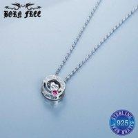 Pendant Necklaces Joyas De Plata 925 Chains Lot Colares Feminino Jewelery Chokers Love Letter Necklace Pendulo Fashion For Women