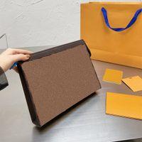 Lüks Tasarımcılar Çanta Çanta Erkekler ve Wemen Evcileri Dana Yüksek Miktarı Altı Renkler ZZL2105051 seçmek için