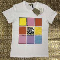 2021 Donners Designer Designer T-shirt magliette Moda stampa stampa manica corta Lady tees luxurys casual vestiti 21ss t-shirt abbigliamento
