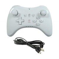 Wireless Classic Game Controller Joystick Bluetooth Gamepad per Wii U Pro con i comanditori dei cavi USB Joysticks