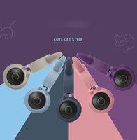 Cute cat ears Headphones Head-mounted wireless luminous cartoon bluetooth game Girlish style