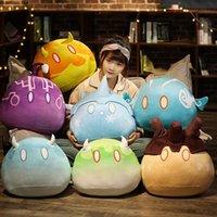 Game Genshin Impact Slime Theme Furby Toy Anime Cute Plush Stuffed Doll Keli Dango Throwing Few Toys Cartoon Birthday Christmas Gifts