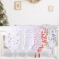 Table Runner Family Dinner Thanksgiving Christmas Holiday Party Farmhouse Home Kitchen Decoration OWB11332