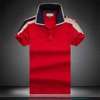 21sp 여름 100 % 코튼 남자 폴로 티셔츠 Est 로고 인쇄 패션 의류 셔츠 트렌드 짧은 소매 Tshirtm-3XL