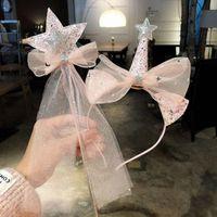 Зажимы для волос Barnettes Arcrddk Детский бантик в форме короны повязки с палкой Красивые волосы милые аксессуары День рождения подарки для девочек