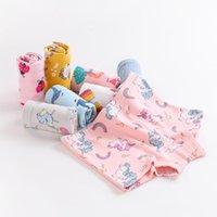 Panties 3 Pieces Girls' Underwear Baby Cartoon Cotton Boxers Children's Shorts Safety Pants