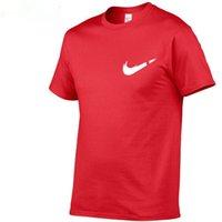 男性Tシャツファッションフィットネスoネック半袖Tシャツ夏カジュアルジムソリッドカラートップスプラスサイズスリム100%コットンTシャツ