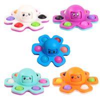 Fidget oyuncaklar fidgets spinner peluş itme kabarcık zar havalandırma eser parmağı yenilik duyusal otizm