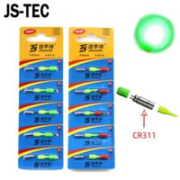 5/10 stücke Hohe Helligkeit Angeln Float LED glühende leichte wasserdichte elektrische stick cr311 batterie zwei farben A051 Zubehör