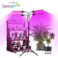 Grow Lights Full Spectrum Led Lights, Indoor Plant Hydroponics Flower Plants Lamp, 5V USB Bracket Bar With Stand