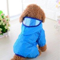 Dog Apparel Pets Cat Raincoat Warm Hood Puppy Waterproof Jacket Coat Pet Clothing XS-XL