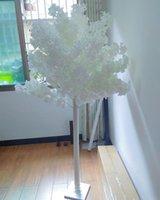 흰색 테마 웨딩 레이아웃 장식 스노우 벚꽃 나무 무대 통로 러너 촬영 소품 파티 용품