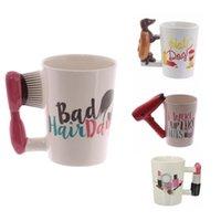 El Boyalı Kupalar Kız Araçları Güzellik Kolu Ptinting Çay Kahve Kupa Bardak Hediye Için Kişiselleştirilmiş