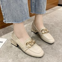 Dress Shoes Shallow Mouth 3cm Heels Slip On Women's High-Heeled Pumps Lace-Up Basketball Platform 2021 Sandals Ladies Round To