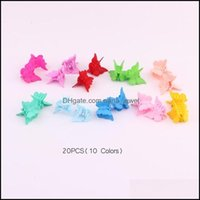 Clamps Jewelry Jewelryhair Aessories Mini Claws Baby Mti Colors Plastic Hair Clips Butterfly Design For Children Ps2142 Drop Delivery 2021 D