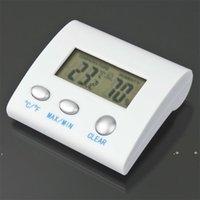 جديد الرقمية LCD درجة الحرارة الرطوبة الرطوبة ميزان الحرارة TL8025 محطة الطقس الحرارية termometro reloj التصوير الحراري EWE5530