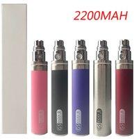 GS Ego II II 2200mAh enorme capacidade KGO de uma semana pilhas para vaporizador caneta e cigarro 510 atomizer