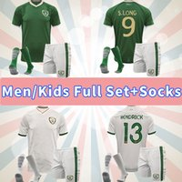 2020 2021 Irlande Jersey de football d'équipe Nationale 20 21 Duffy McClean Doherty Hendrick Chemise de football Uniformes Hommes adultes Ensembles Chaussettes enfants Kits