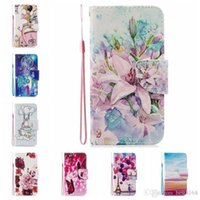 Flower Butterfly Leather Wallet Cases For Iphone 13 Pro MAX 12 Mini 11 XR XS X 8 7 6 Samsung Galaxy Note 20 Lace Printing Love ID Card Slot Cover Cartoon Flip Holder Pouch