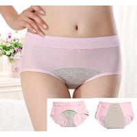 Leckdicht Damenhöschen Zeitraum Menstruation Beweis Inkontinenz Unterwäsche Panty Sleepwear Intime Slips Baumwolle Bekleidung Croqk