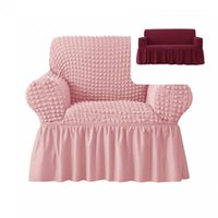 Chair Covers Seat Protector Breathable 2 Sizes Cushion Cover 1-Piece Easy Fitted Universal Sofa Slipcover For Party