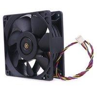 Almofadas de refrigeração do laptop QFR1212GHE QFR1212GHE-PWM 4P 12V 2.7A 12038 Server Ventilador para Mineiro