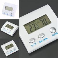 디지털 LCD 온도 습도 습도계 온도계 TL8025 Thermo 기상역 TermometrRo Reloj 열 imers 472 R2