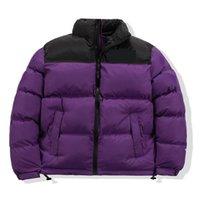 Moda Men's Down Coat 20FW Winter Winter Parkas Quente Carta Bordado Padrão Tecido à prova de vento de alta qualidade Casaco de alta qualidade Tamanho M-2XL 9 Cor