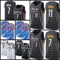 Brooklyn.NETS.Kevin 7 Durant Jersey Basketball James 13 Harden Kyrie Jersey Irving Black 72 Biggie Männer TRAE 11 Junge 2021 Nachrichten