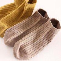 Socks & Hosiery 5 Pairs Ladies Short Lightweight Sports Breathable Comfortable Ankle Set Cotton Plain Weave S5n9
