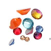مسمار الفن الراين كريستال مايكرو الماس flatback الغراء الثابتة غير الإصلاح الديكور الملابس diy الألوان × 1000 قطع 2 ملليمتر 3 ملليمتر hwe7164