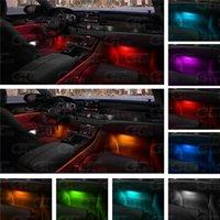LED Light Bar 12V Car Interior RGB Atmosphere Light Remote Control Decorative Atmosphere Light Factory Direct Sales