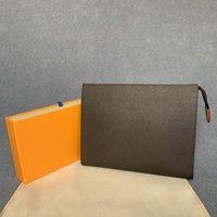 Designer lettre Wallet fleur sacs de café pour hommes de noir les femmes portefeuilles zipper cosmétiques sac à main concepteur sacs à main 47542 Venez sac à poussière