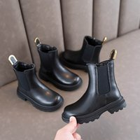 Childrens Boots Kids Shoes Girls Footwear Autumn Winter Casual Princess Moccasins Soft Short Boot Leather Shoe Fashion B8168