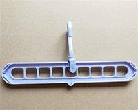 Percha de bricolaje Magic Space Saving Ropa Ropa Ropa 360 Rotación en cascada de 9 orificios Toalla de huelle Armario Organizador Plástico 190 V2