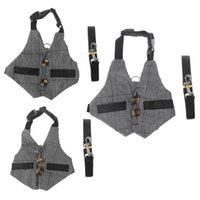 Cat Collars & Leads L21A Multipurpose Harness Small Pet Leash Chinchilla Guinea Pigs Vest Clothes