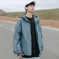 Mens Jackets new style jean jacket fashion Winter Coat print letter Casual active 2021 overcoat Outwear blue sun Christmas gift