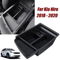 Car Armrest Storage Box Center Organizer Glove Tray Holder Box Stowing Tidying for Kia Niro 2018 2019 2020