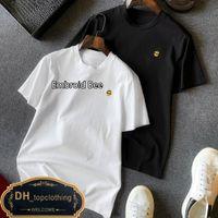 T-shirt Alta Quanlity Luxury Europe Mens Ricamo Ape T Shirt 100% cotone traspirante T-shirt
