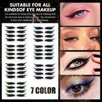 False Eyelashes Eyelash Eyeliner Stickers Reusable Eyelid Instant Outline Makeup Easy Quick